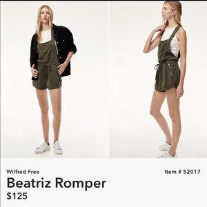 04338459b652 Aritzia Other - Aritzia Wilfred free Beatriz Romper Overall
